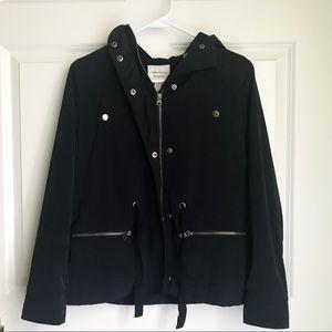 Forever 21 Navy Rain Jacket